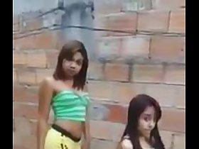 Brasilian / brazilian teens lap dance baile twerk perreo
