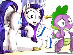 MLP Porn Rarity Pony ( My Little Pony Clop Ponies Hentai Furry Sex Cartoon Compilation )
