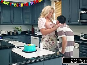Curvy Cougar Ryan Conner Gang Banged By Her Son's Friends