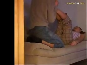 security cam caught son fucking babysitter