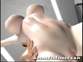 3D Nurses Orgy!