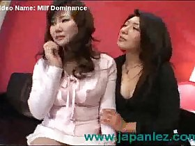 Milf Dominates Her Older Friend in Lesbian Video